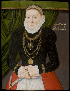 Portrait of a Lady c.1582.