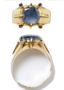 Medieval Sapphire Ring.