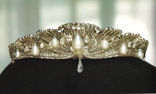 Mellerio Shell Tiara Created for the Infanta, Queen Isabelle II of Spain,1867.