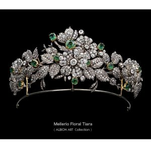 Diamond Floral Tiara, Mellerio early 19th Century. © Albion Art.