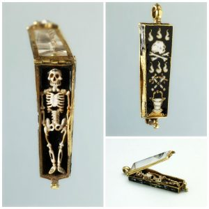 Sixteenth Century French Memento Mori Pendant. © Trustees of the British Museum.