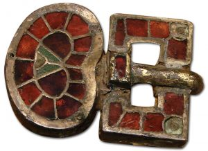 Merovingan Garnet Inlay 6th Century