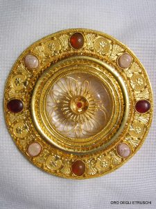 Reconstruction of an Etruscan Earring Dating c.4C B.C.