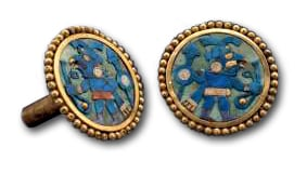 Moche Ear Ornaments. 1-800 AD. Larco Museum Collection.