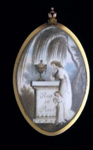 Mourning Pendant c.1800-1820.