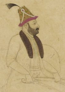 Portrait of Nadir Shah, mid 18th century.