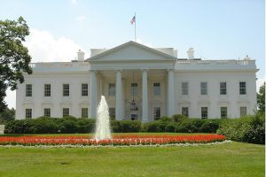 North façade of The White House, Washington D.C.. An Example of American Palladianism.