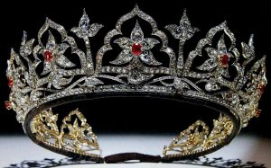 The Oriental Circlet Ruby and Diamond Tiara.