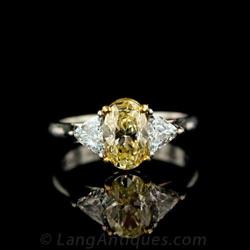 Oval Yellow Diamond Engagement Ring.jpg