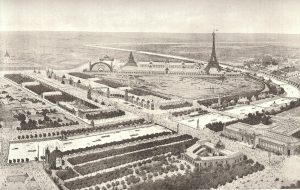 A Perspective View of the 1900 Exposition.