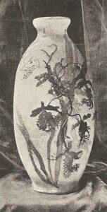 Vase by Gallé.