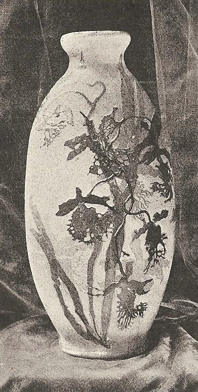 Vase by Gallé.