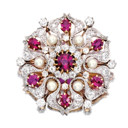 Pickslay Ruby Diamond Brooch.jpg