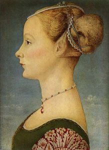 Portrait of a Lady, Piero Pollaiuolo.