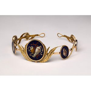 Pietra Dura Tiara c.1810. ©Victoria & Albert Museum Collection.