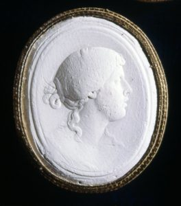 Plaster Cast of a Cameo c.18th Century.