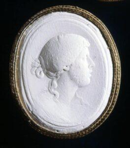 Plaster Cast of a Cameo c.18th Century.