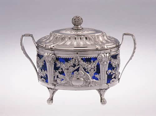Sugar Bowl Crafted by French Court Jeweler Janety in 1786.