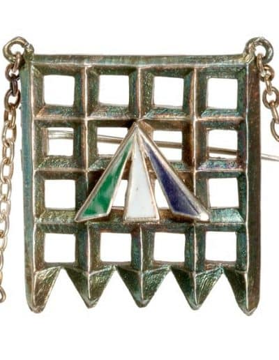 Portcullis_Holloway_Brooch