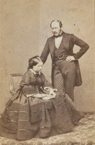Photo of Prince Albert and Queen Victoria.