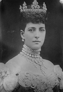 Queen Consort Alexandra of Great Britain.