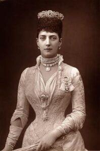 Princess Alexandra, Jewelry Trendsetter.