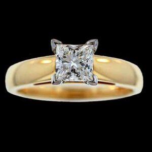 Princess-Cut Diamond.