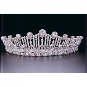 Diamond and Platinum Art Deco Tiara c.1925.