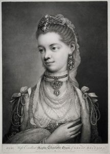 Her Most Excellent Majesty Charlotte Queen of Great Britain.