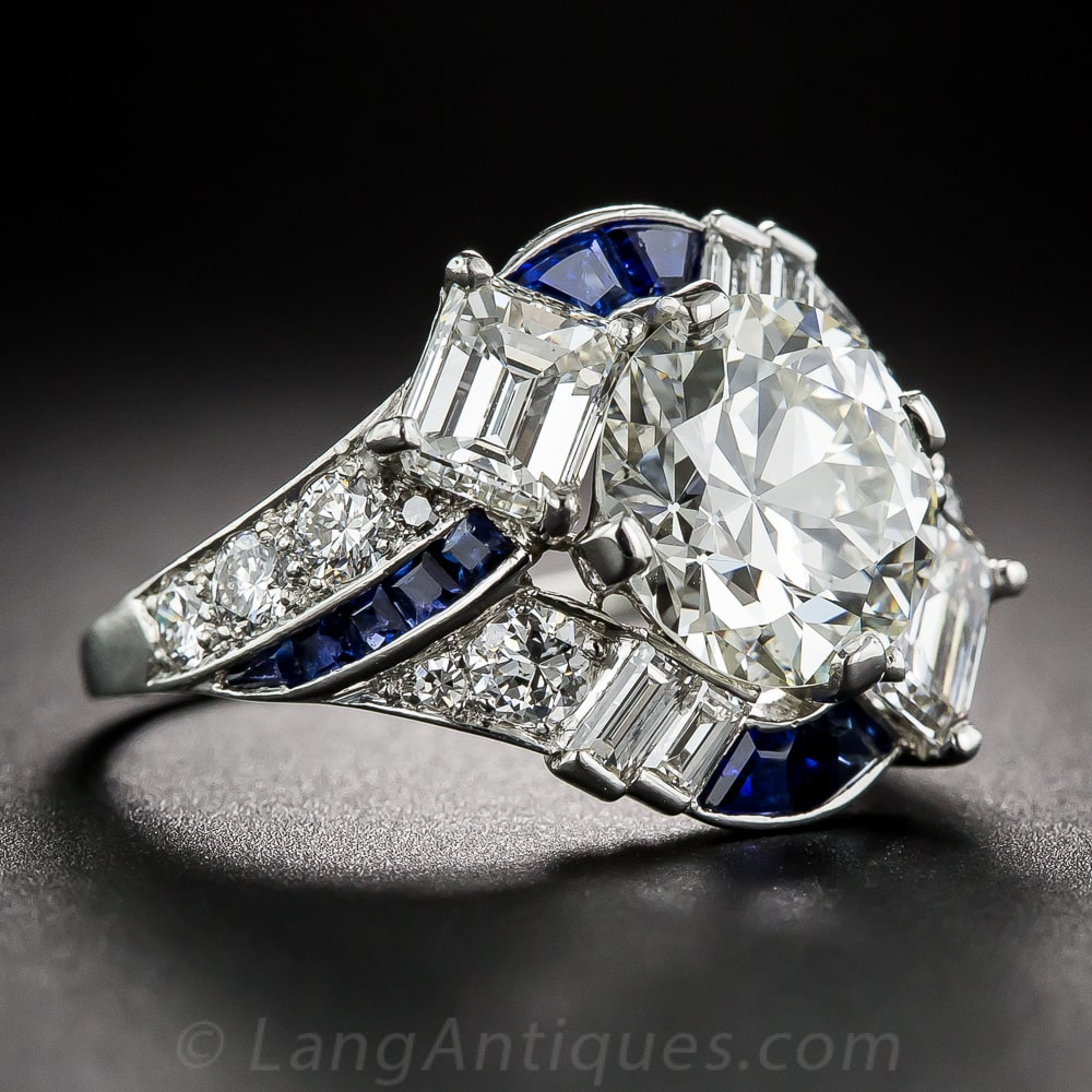 Raymond Yard Art Deco Diamond Sapphire Ring.jpg