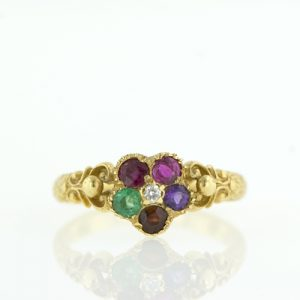 Victorian Regard Ring.