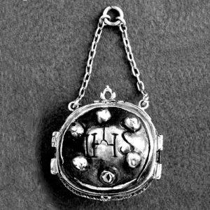 Reliquary Pendant, South American Silver, c.1600. © The Trustees of the British Museum.