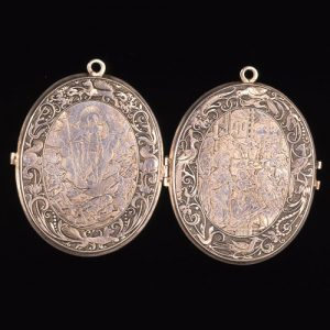 Early 17th Century Locket. © The Trustees of the British Museum.