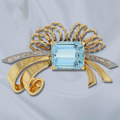 Retro Aquamarine Ribbon Brooch.jpg