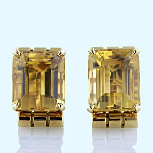 Retro Citrine Earclips.jpg