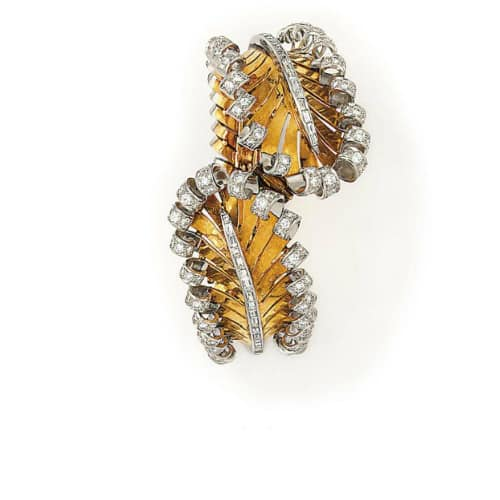Retro Diamond Feather Bracelet.jpg