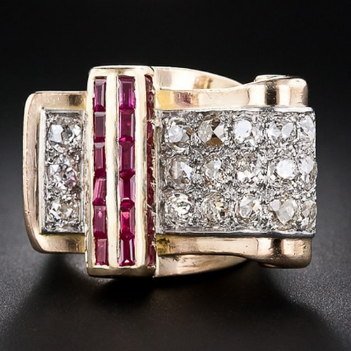 Retro Diamond Ruby Cocktail Ring.jpg