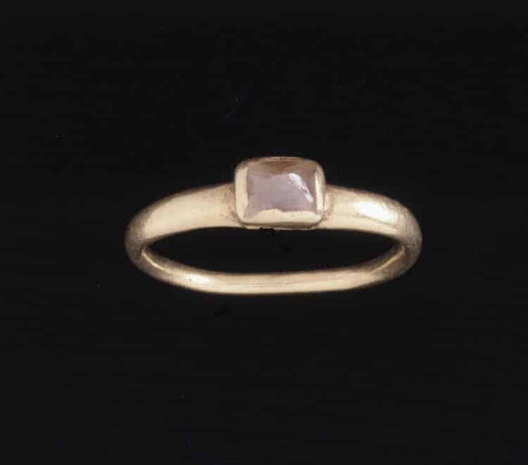 Antiquity The History Of Engagement Rings