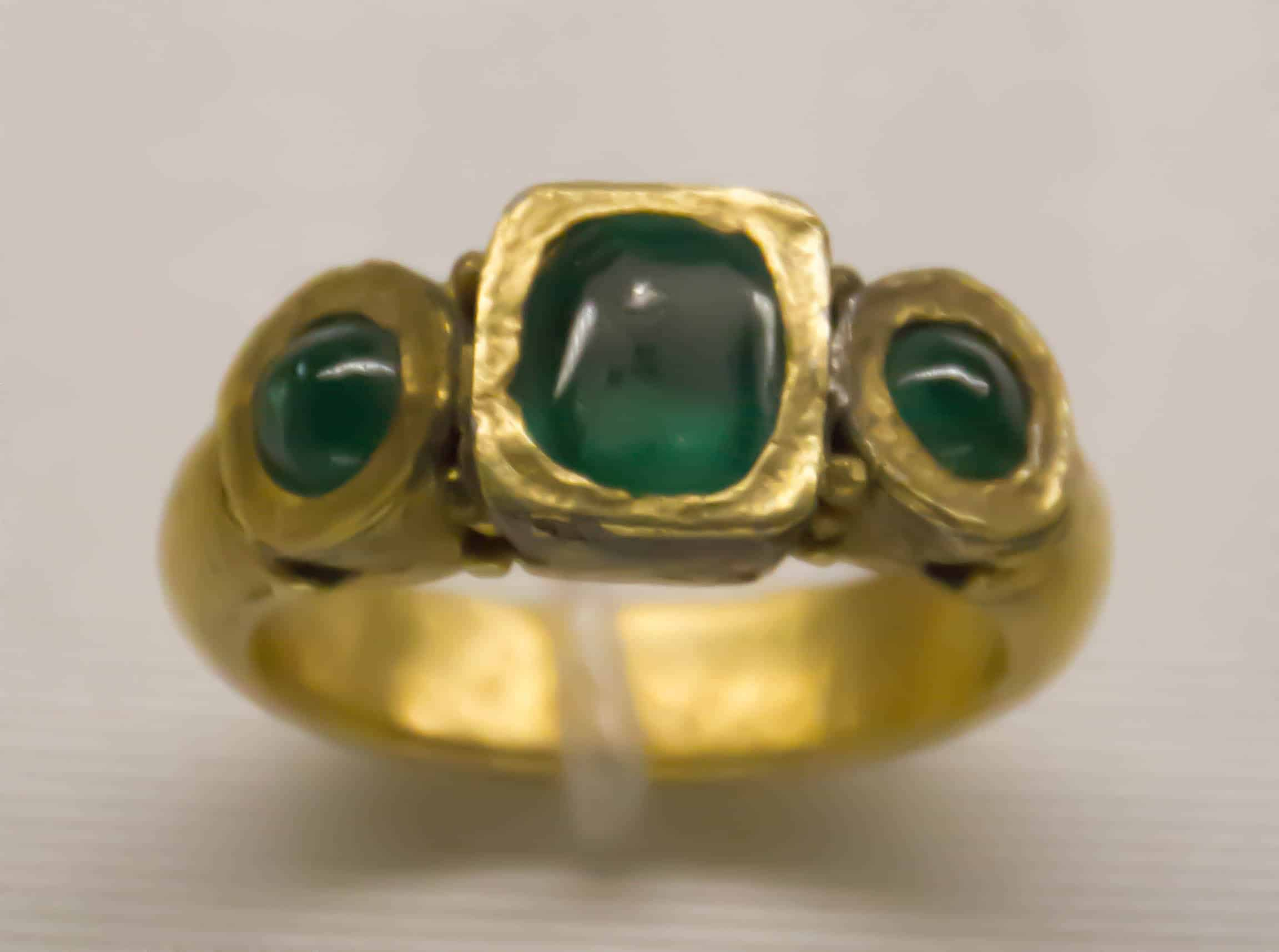ring to rings aju neoclassical mens ancient university emerald roman