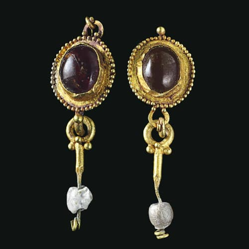 Roman Garnet Earrings.jpg