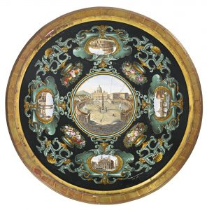Roman Table Top, dated 1864. Attrib: Cavaliere Michelangelo Barberi Workshop (1787-1867)