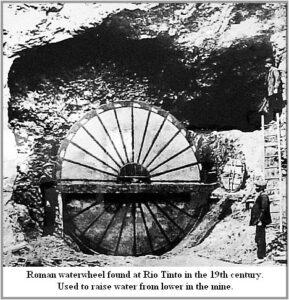 Roman Water Wheel.