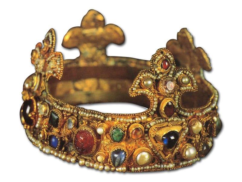 Romanesque Crown. Essen's Cathedral Treasury. c. 1100.
