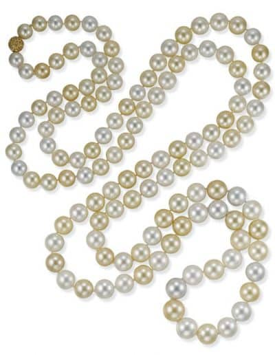 South Seas Pearl Rope. Photo Courtesy of Christie's.