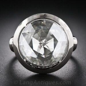 Rose-Cut Diamond.
