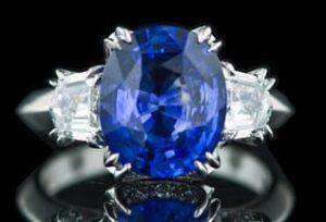 Rich Blue Sapphire.