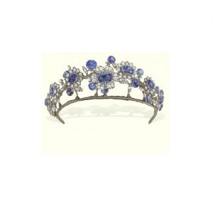 Sapphire and Diamond Tiara c.1850.
