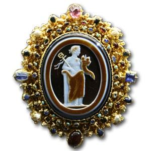 Schaffhauser Onyx Cameo. c.1230-40
