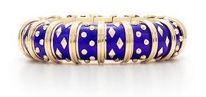 Tiffany Schlumberger Enamel Bracelet.