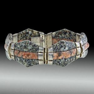 M. Rettie & Sons Granite Bracelet.